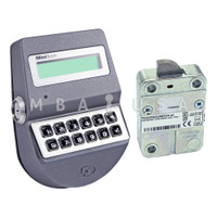 MiniTech Roto Bolt Lock & Keypad, Dallas Key Reader, Chrome