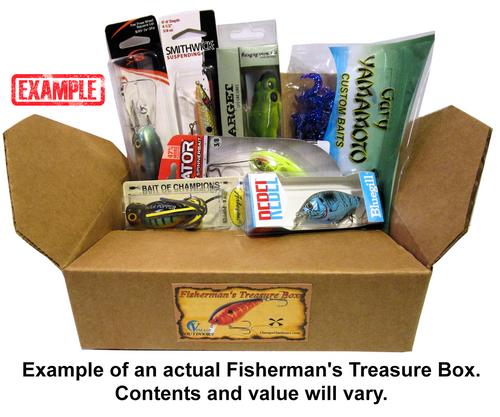 Example of an actual Fisherman's Treasure Box.