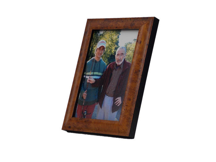4x5 Golden Burl Frame