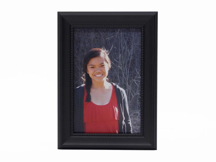 4x5 Tribeca Black Tabletop Picture Frame