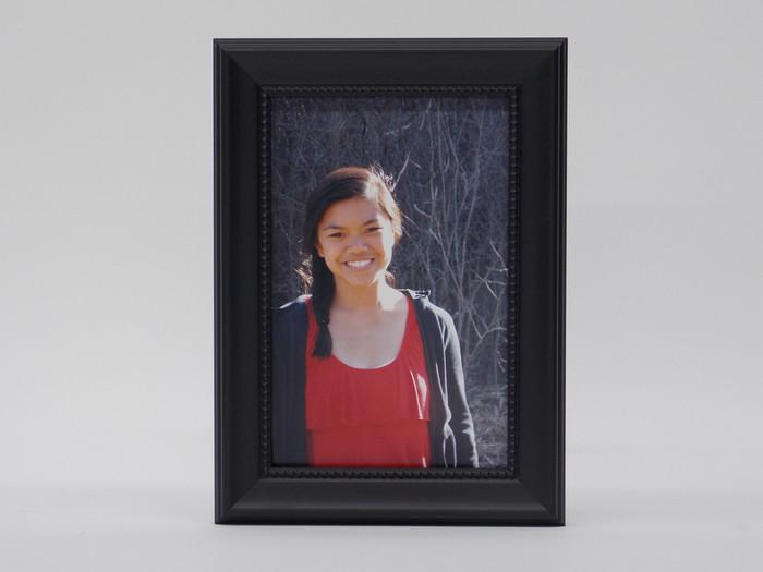 5x7 Tribeca Black Tabletop Frame