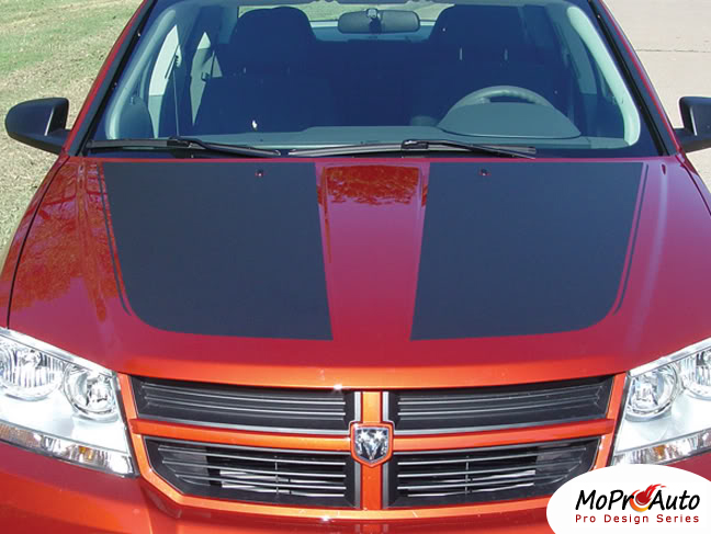 AVENGED Dodge Avenger Vinyl Graphics Decals Stripes by MoProAuto Pro Design Series