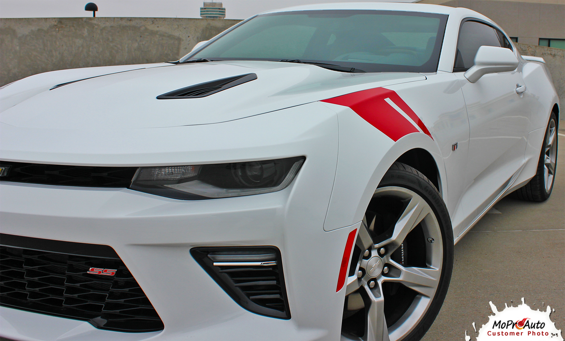 2016 2017 2018 Chevy SS RS Camaro HASHMARK Vinyl Graphics Kits, Decals, Stripes