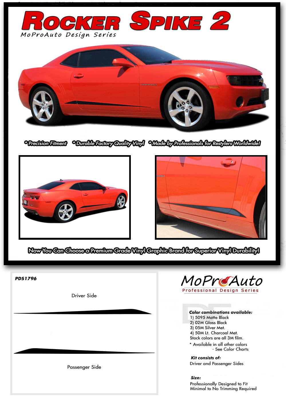 2014-2015 Chevy Camaro Vinyl Graphics Kits, Decals, Stripes by MoProAuto
