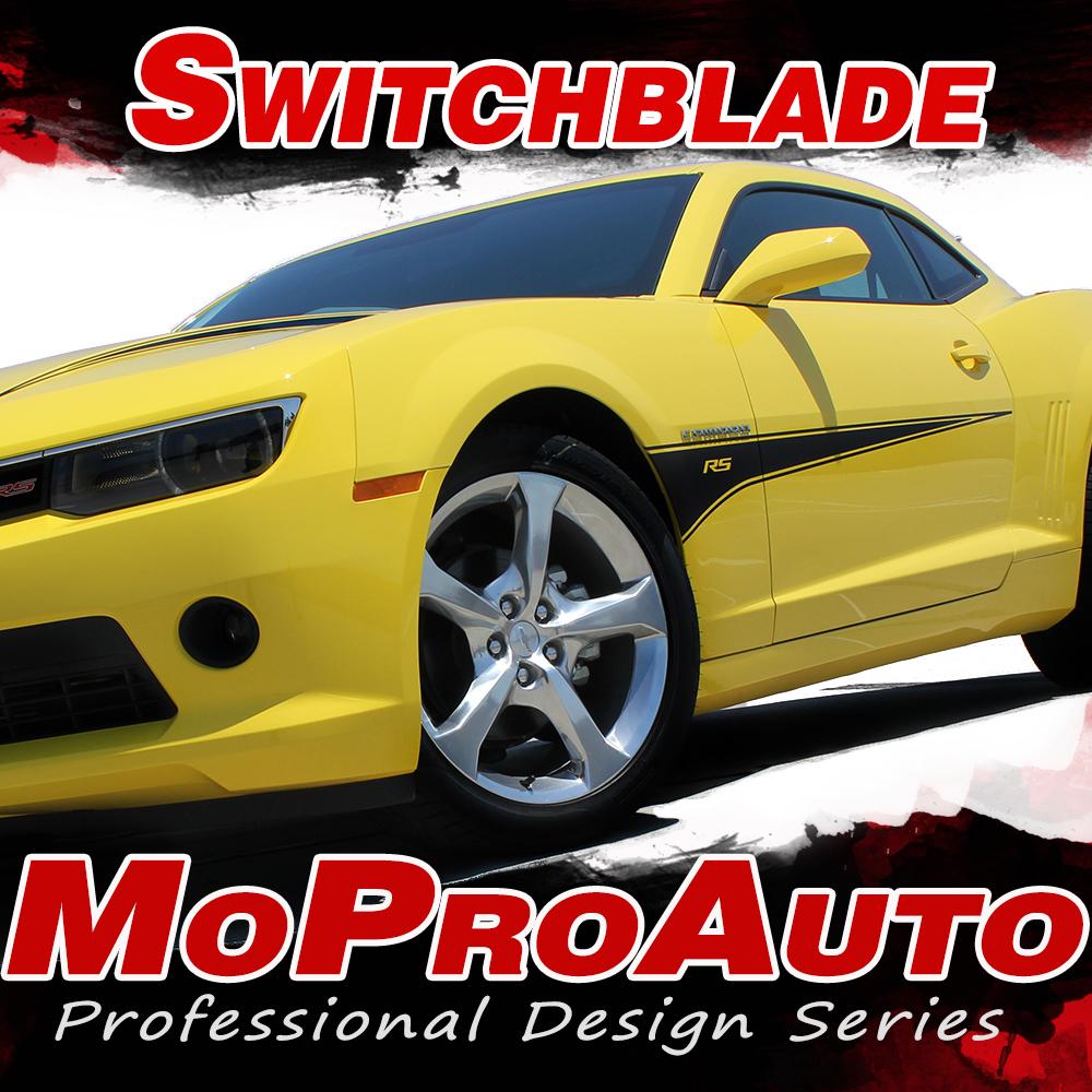 2014-2015 Switchblade Chevy Camaro Vinyl Graphics Kits, Decals, Stripes Kit