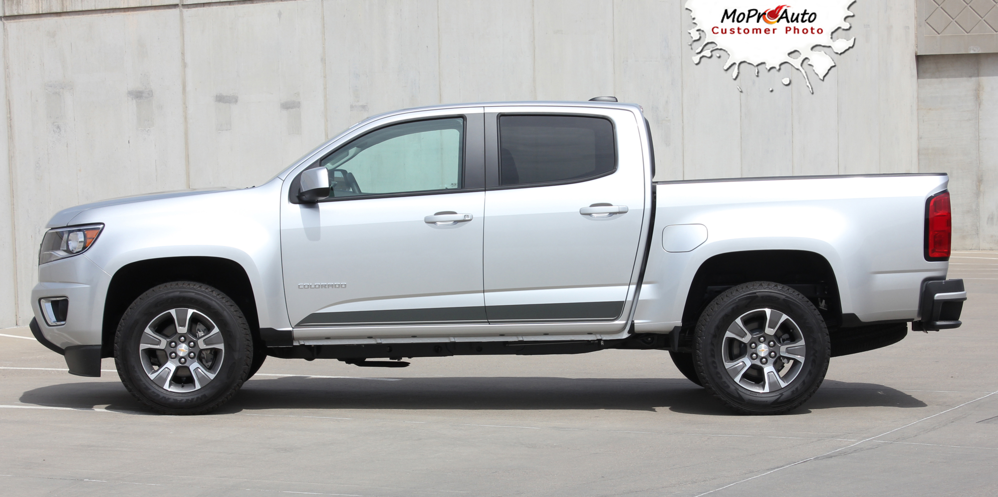 RAMPART - Chevy Colorado Vinyl Graphics, Stripes and Decals Package by MoProAuto Pro Design Series