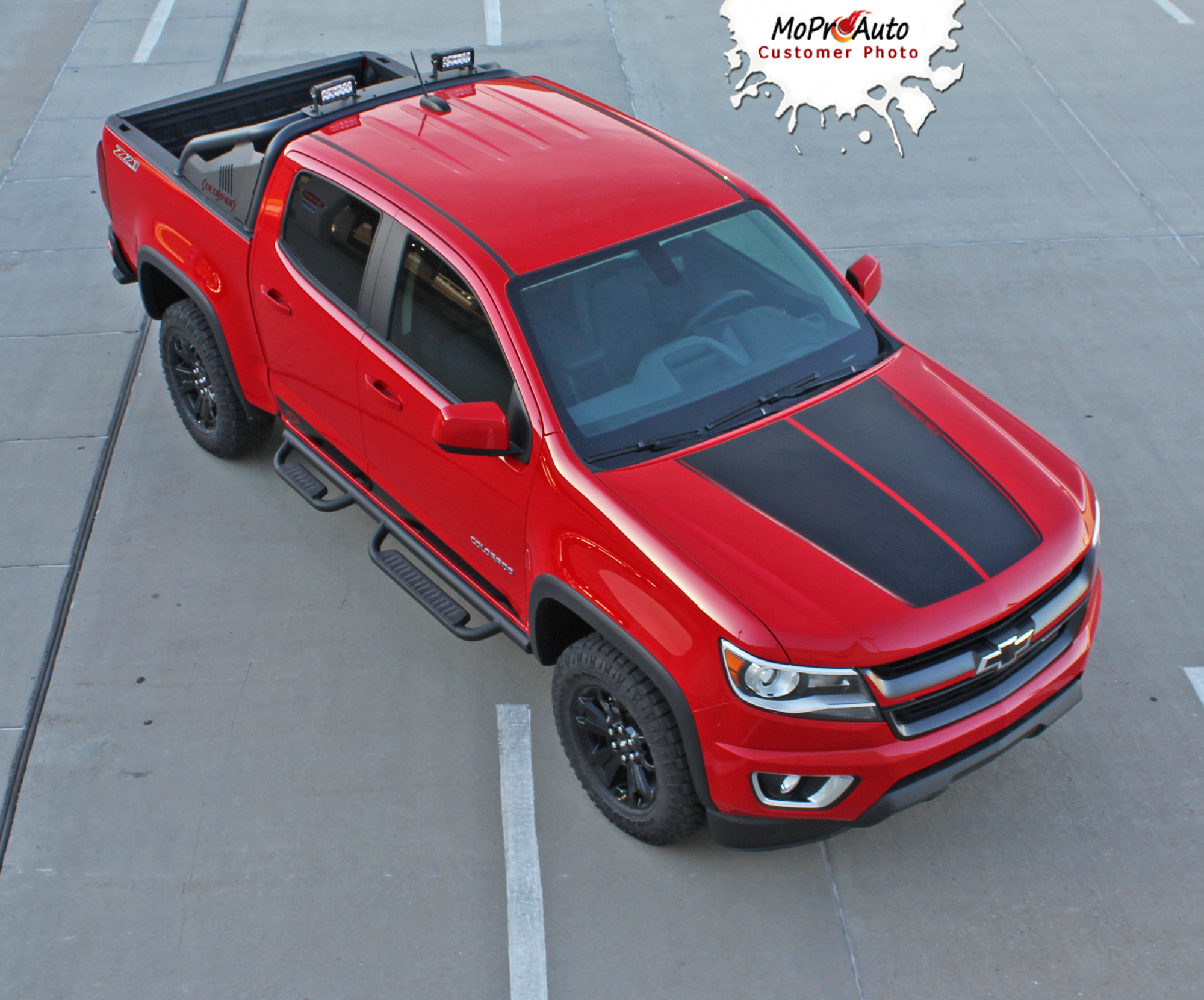 SUMMIT - Chevy Colorado Vinyl Graphics, Stripes and Decals Package by MoProAuto Pro Design Series