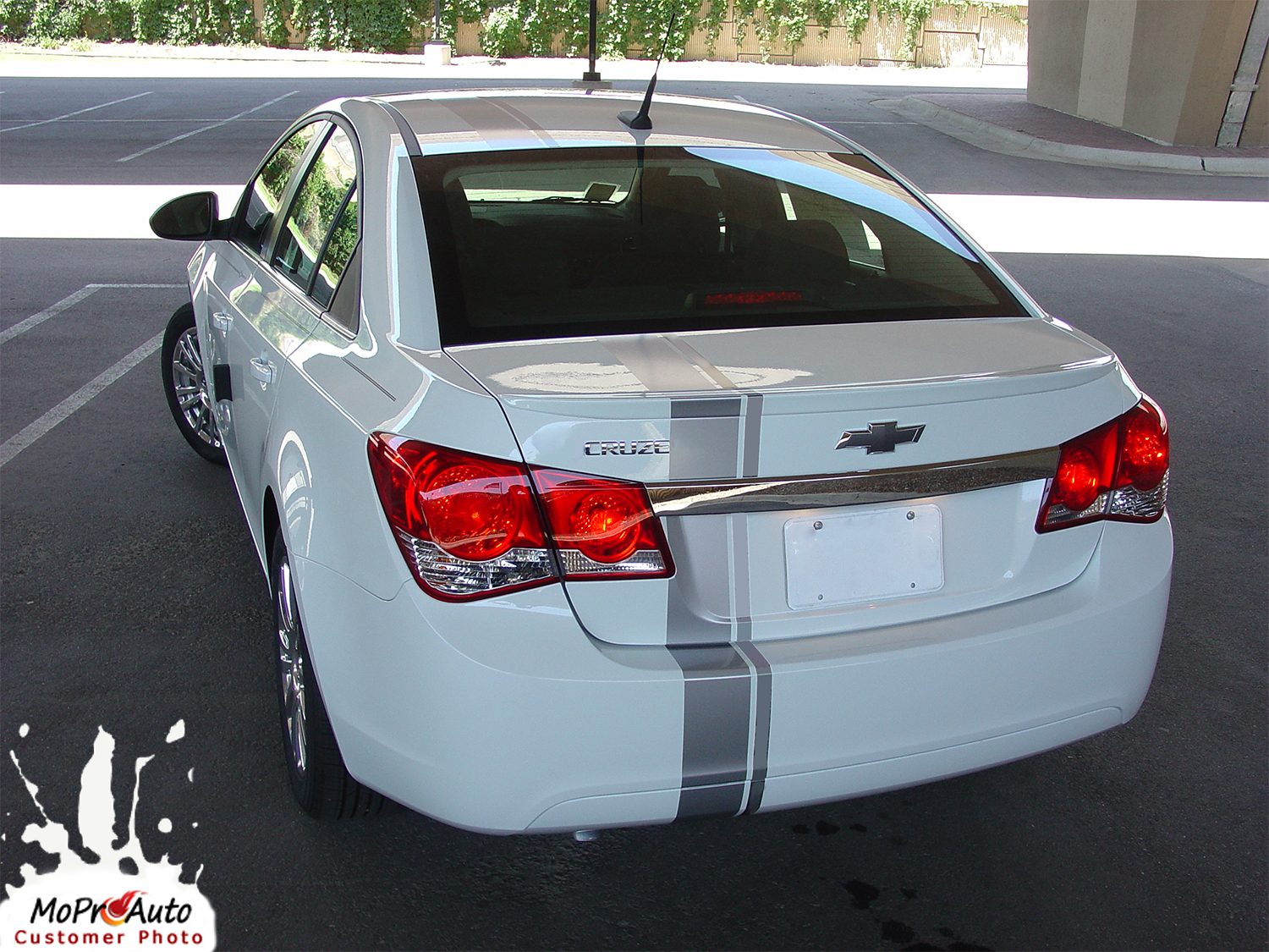 Chevy Cruze RALLY STRIPES Vinyl Graphics, Stripes and Decals Set