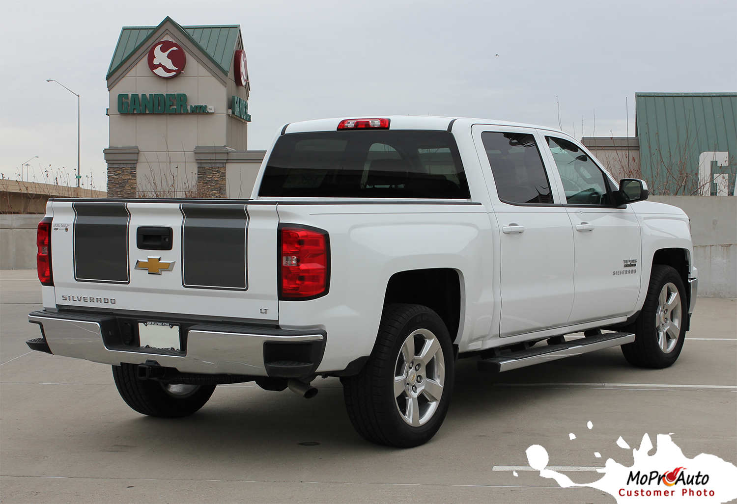 RALLY Chevy Silverado Vinyl Graphic Decal Rally - Truck bed decals customat superb graphics we specialize in custom decalsgraphics and