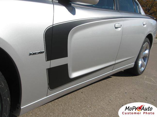 Dodge Charger C STRIPE Vinyl Graphics, Stripes and Decals Set