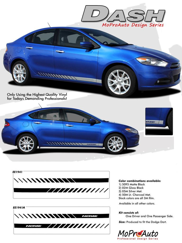 Dodge Dart DASH Vinyl Graphics, Stripes and Decals Kit