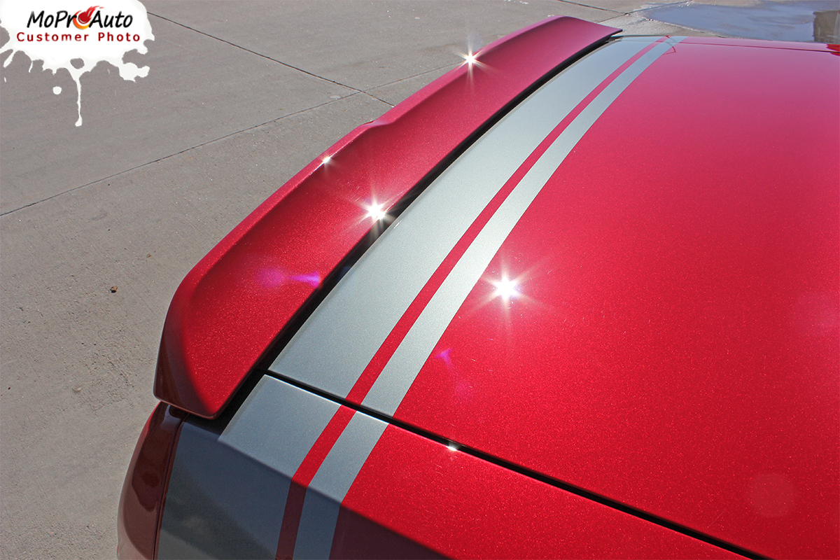 Dodge Challenger Scat Pack Quarter Panel Stripes Decals Vinyl Graphics