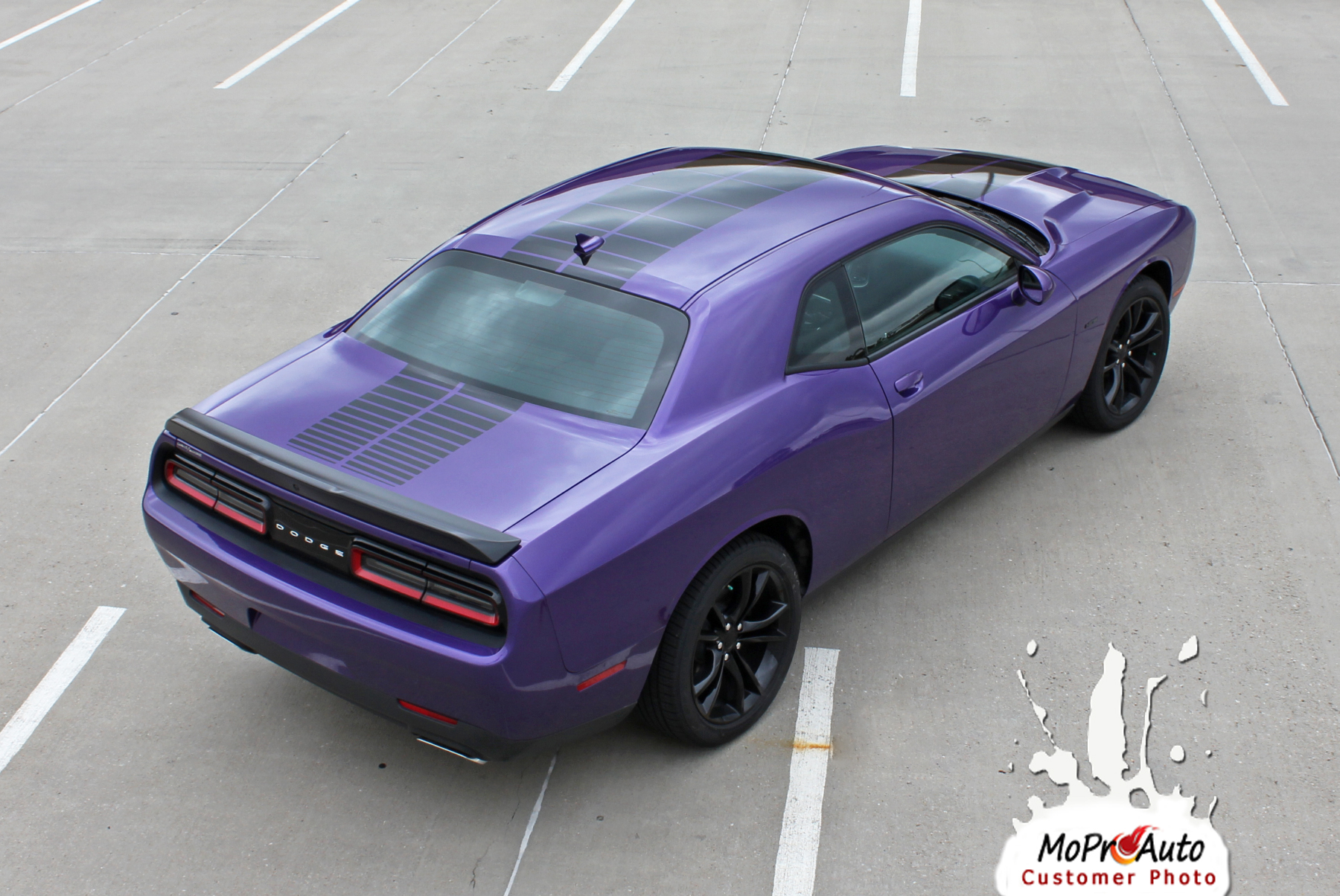 2008, 2009, 2010, 2011, 2012, 2013, 2014, 2015, 2016, 2017, 2018, 2019, 2020 Dodge Challenger PULSE RALLY Vinyl Graphics, Stripes and Decals Set