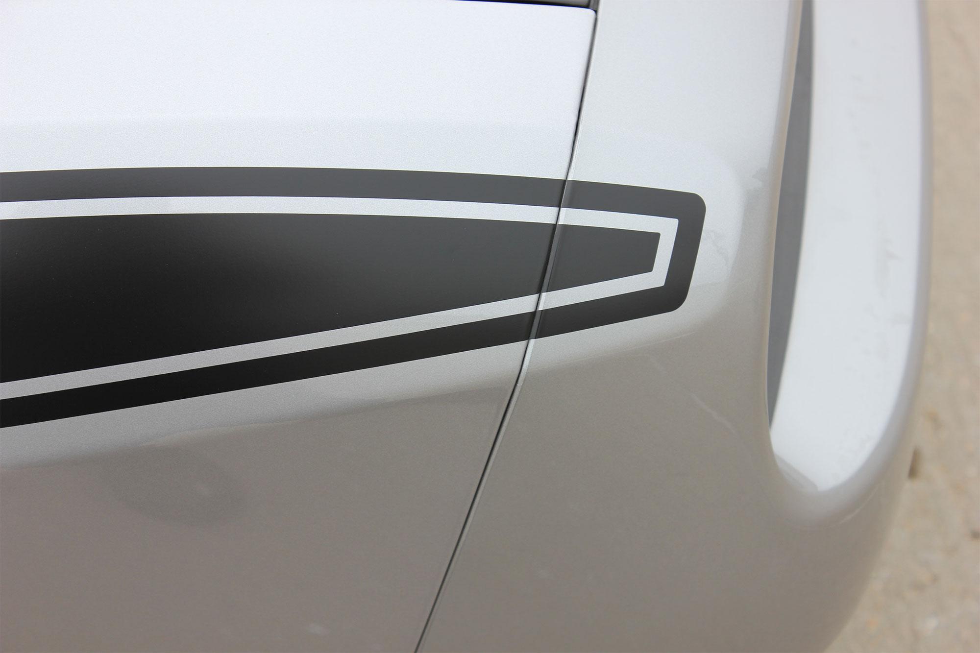 Dodge Challenger PURSUIT Side Stripes 2011 2012 2013 2014 2015 2016 2017 2018 Decals Vinyl Graphics