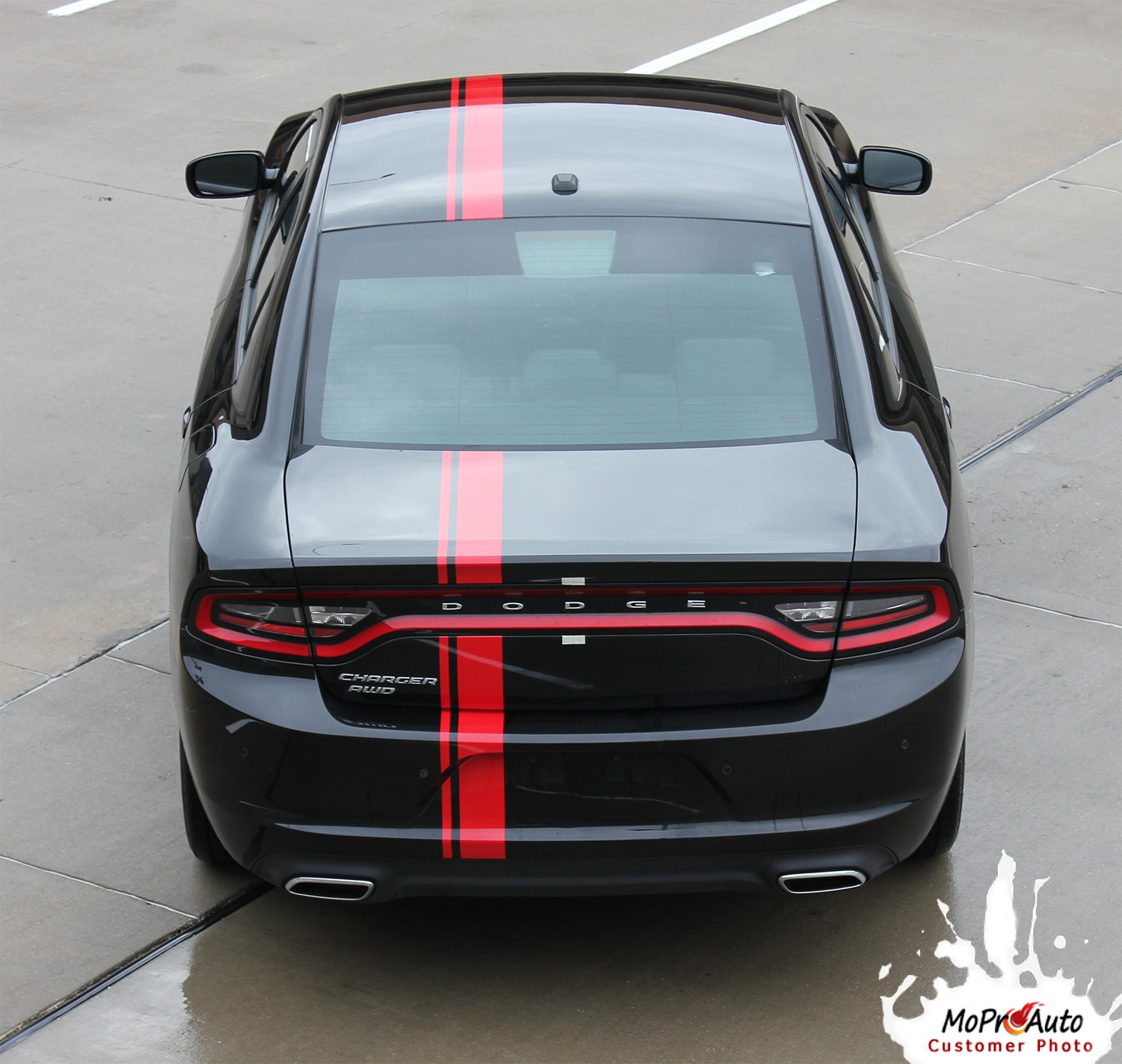 2015 EURO RALLY Dodge Charger E RALLY STRIPE Vinyl Graphics, Stripes and Decals Set