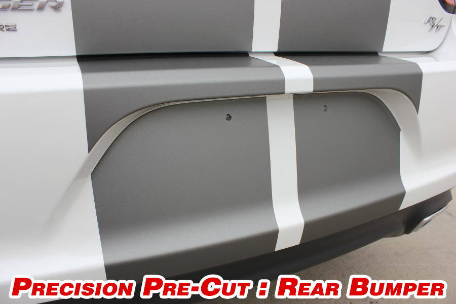 2015 Rally Racing Stripes Dodge Charger Vinyl Graphics, Striping and Decals Set