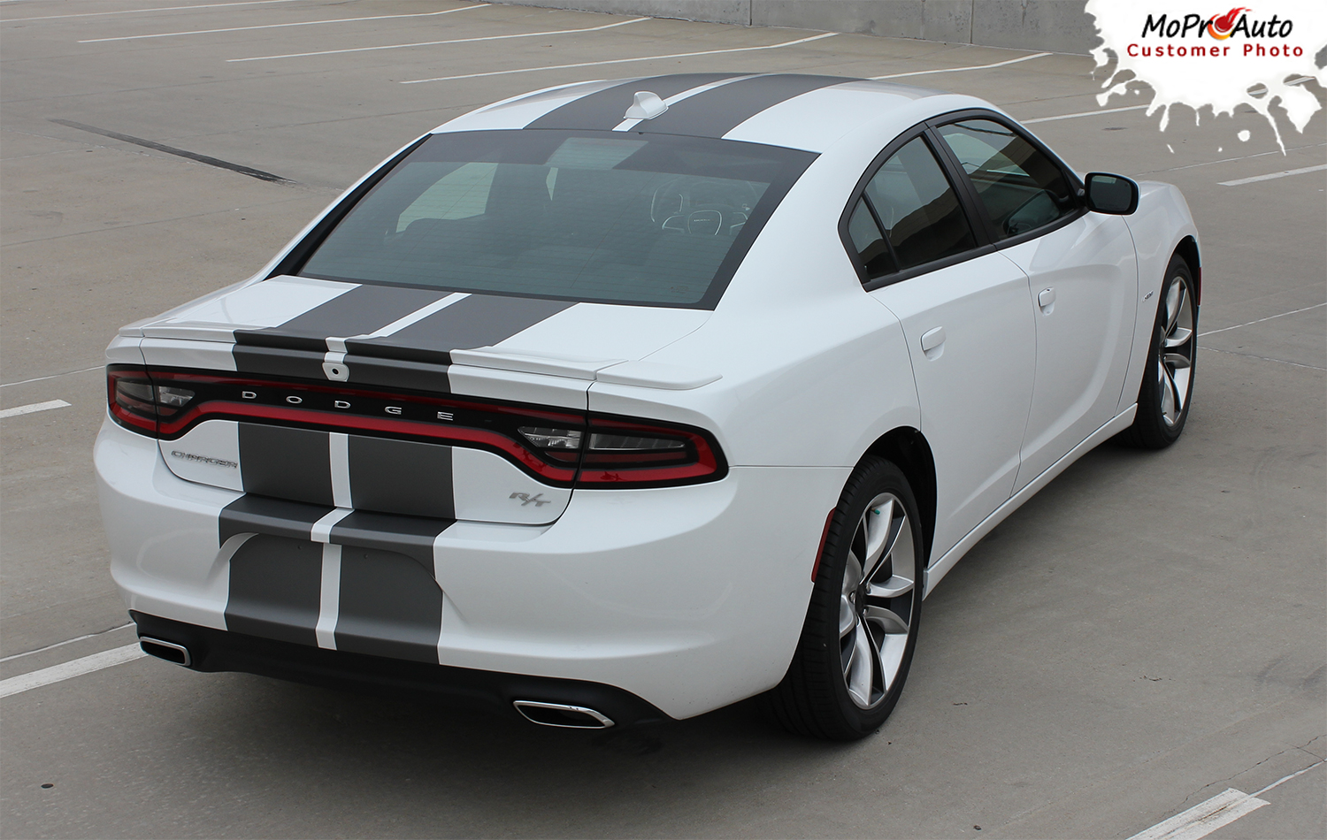 2015 2016 2017 2018 Rally Racing Stripes Dodge Charger Vinyl Graphics, Striping and Decals Set