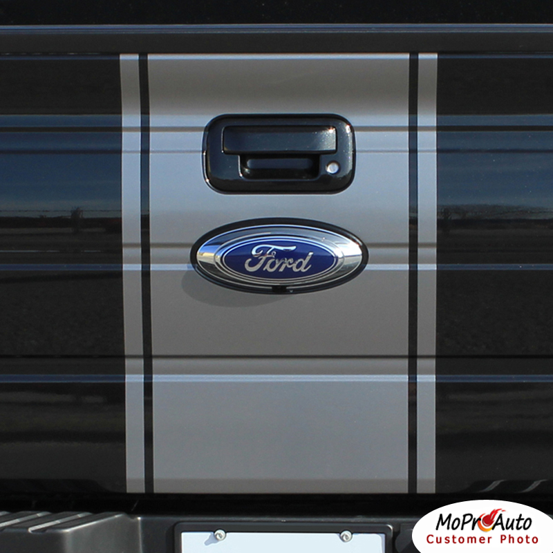Ford F-Series F-150 - MoProAuto Pro Design Series Vinyl Graphics and Decals Kit