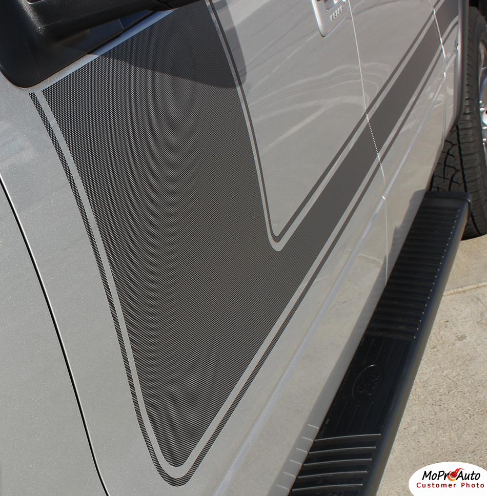 Force One Ford F-Series F-150 Appearance Package Vinyl Graphics and Decals Kit by MoProAuto Pro Design Series