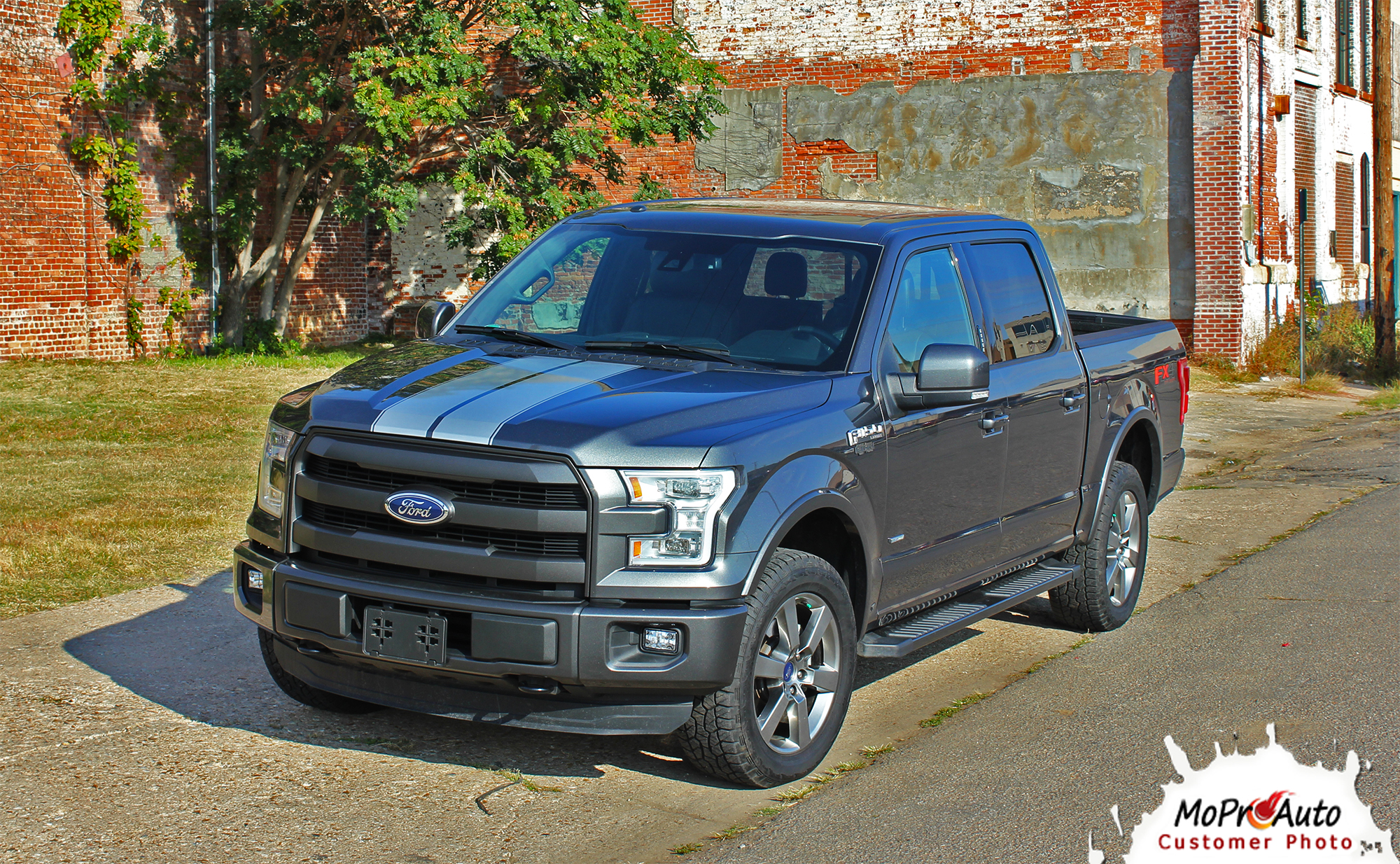 2015 2016 2017 2018 Ford F-Series F-150 - F-RALLY MoProAuto Pro Design Series Vinyl Graphics and Decals Kit F-RALLY