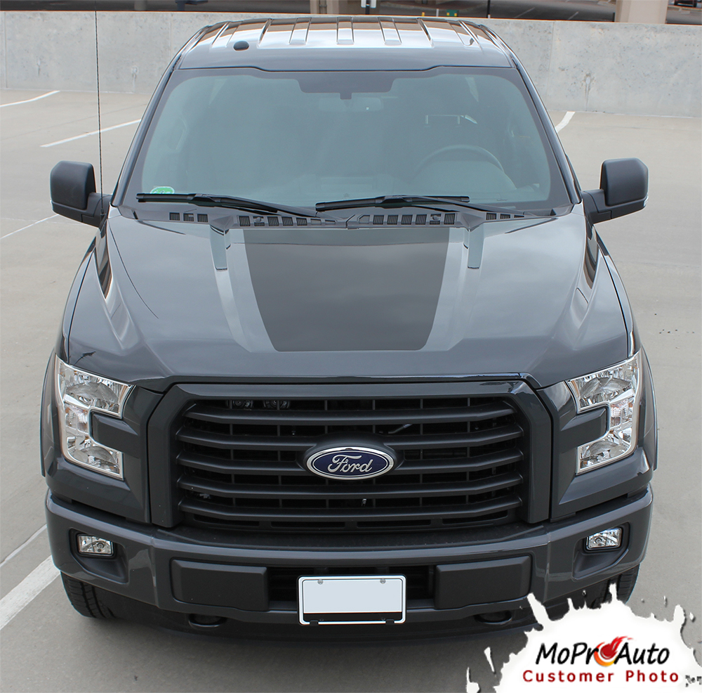 Reaper hood solid reaper style ford f series f 150 appearance package