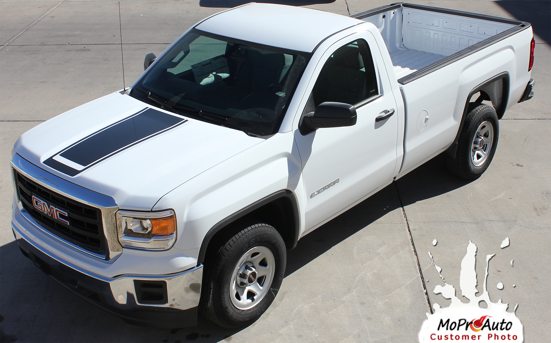 GMC SIERRA - MoProAuto Pro Design Series Vinyl Graphics, Stripes and Decals Kit