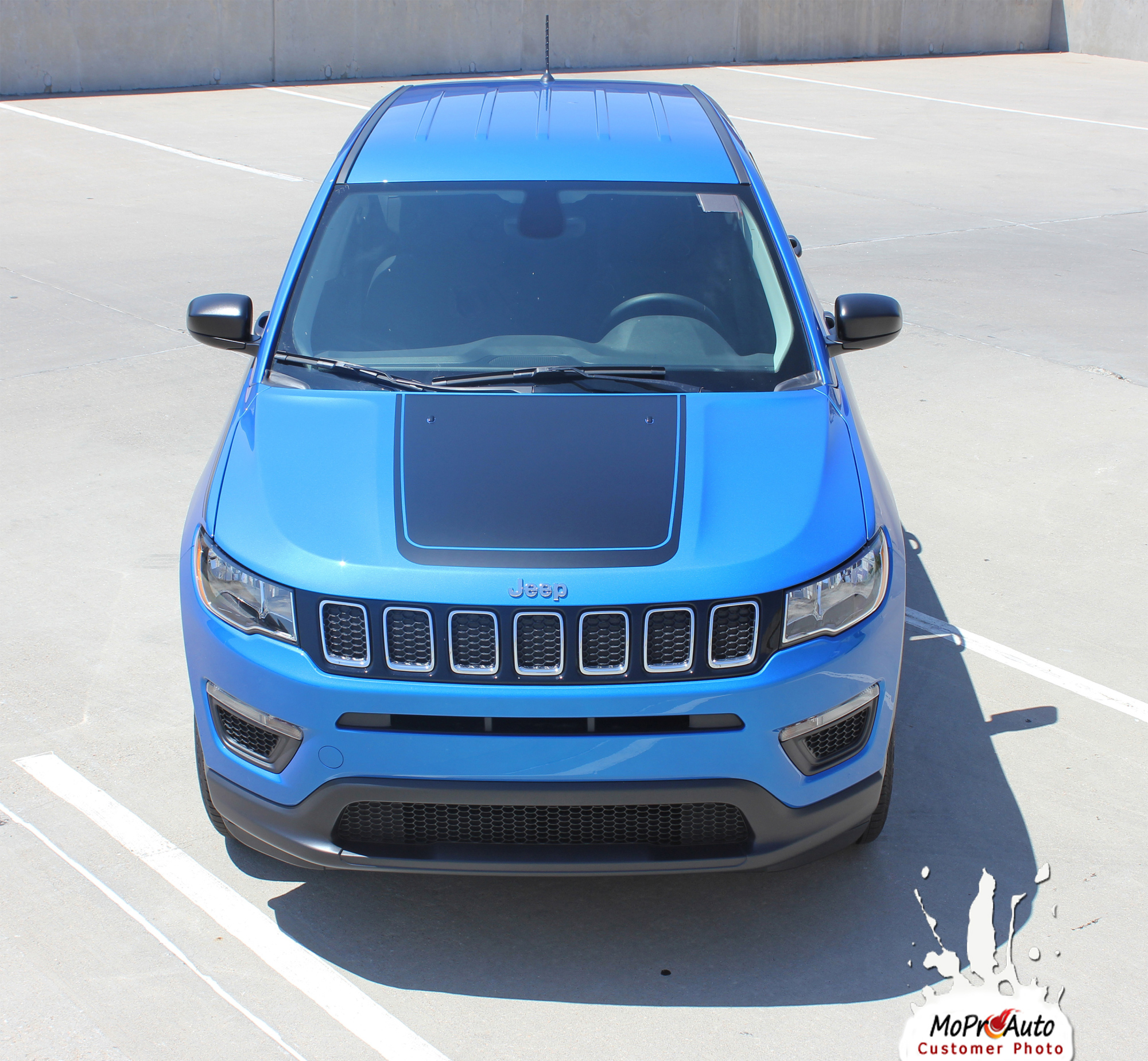 2017, 2018, 2019, 2020 Jeep Compass Vinyl Graphics Decals Stripes | Customer Photo Bearing