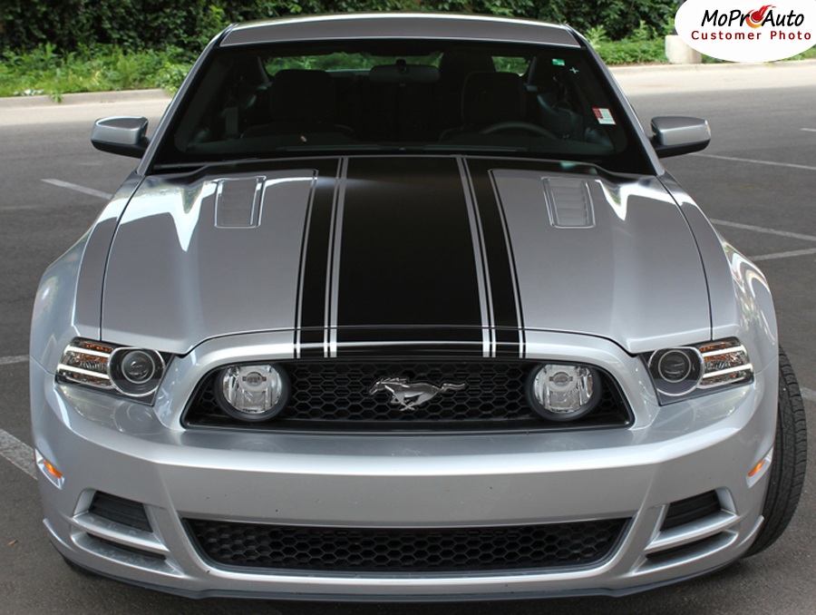 PRIME 1 Ford Mustang - MoProAuto Pro Design Series Vinyl Graphics, Stripes and Decals Kit