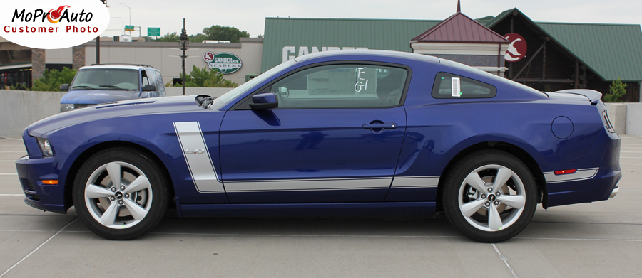 PRIME 2 Ford Mustang - MoProAuto Pro Design Series Vinyl Graphics, Stripes and Decals Kit