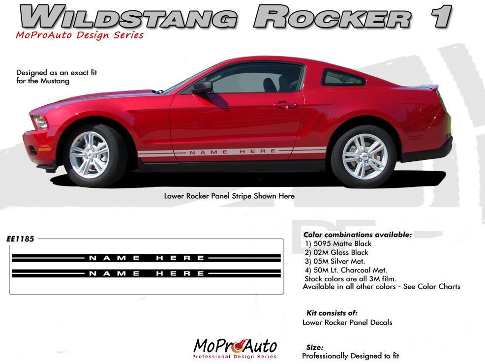 Mustang Wildstang Rocker 1 2005 2006 2007 2008 2009 2010