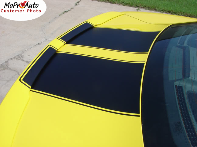 Chevy Camaro R-SPORT OEM Style Racing Vinyl Graphics, Stripes and Decals Set by MoProAuto