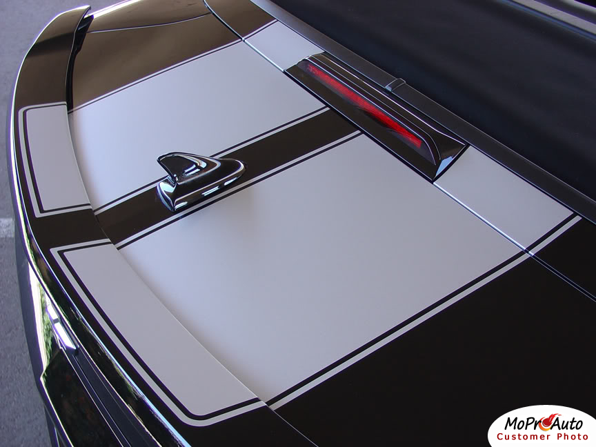 Chevy Camaro R-SPORT CONVERTIBLE Vinyl Graphics, Stripes and Decals Set