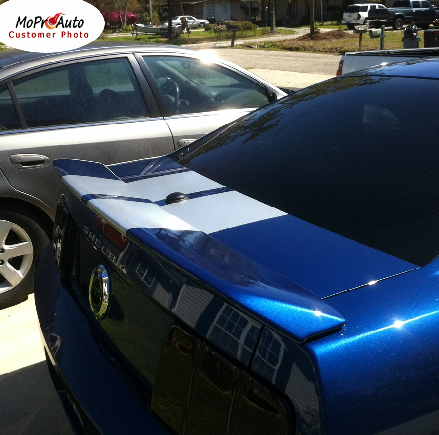 Mustang WILDSTANG S-500 : Lemans GT500 Style Vinyl Racing Stripe Kit for 2005 2006 2007 2008 2009 Ford Mustang GT