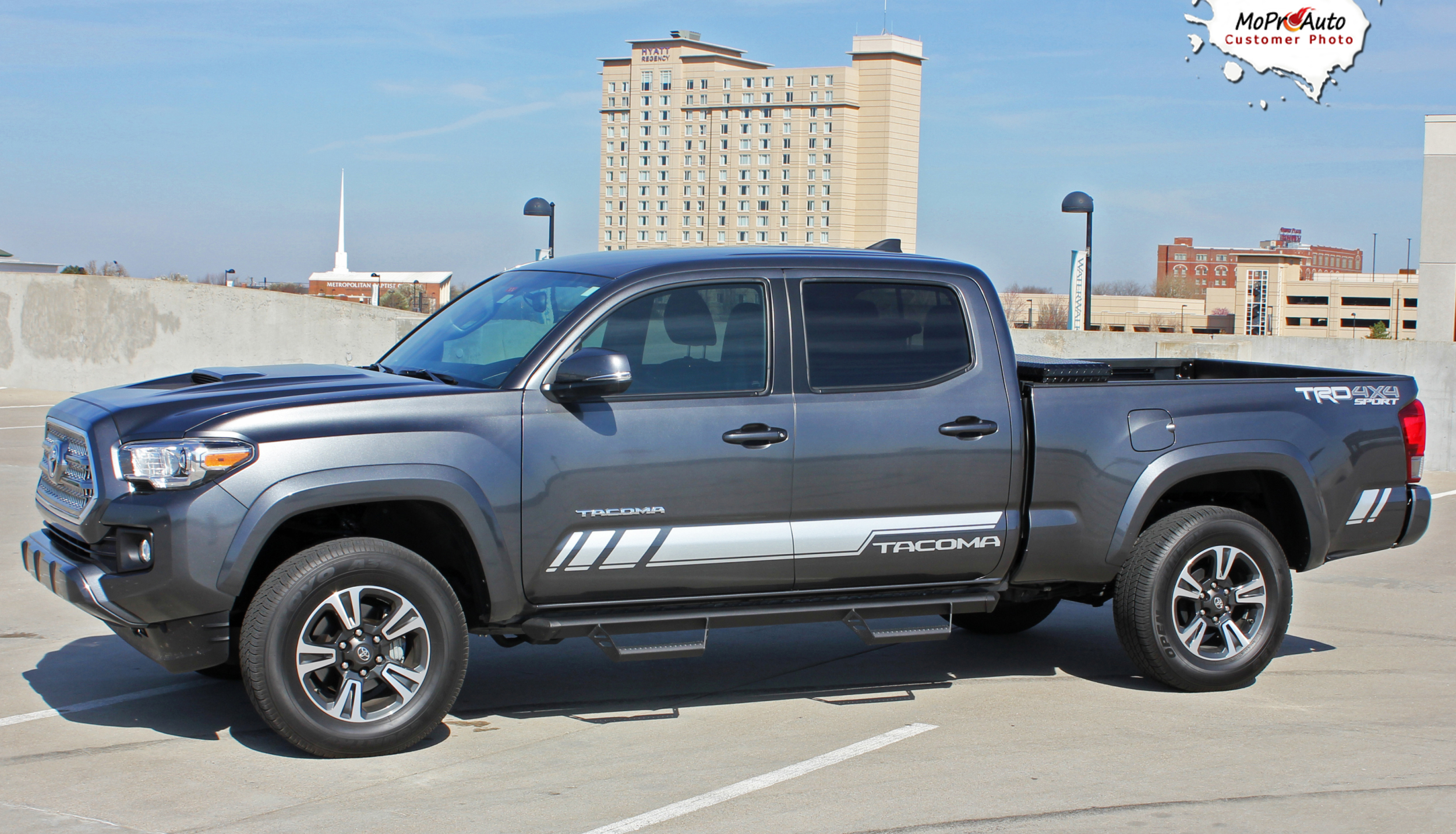 CORE - Toyota Tacoma Truck TRD Sport Pro 3M 1080 Vinyl Graphics, Stripes and Decals Package by MoProAuto Pro Design Series