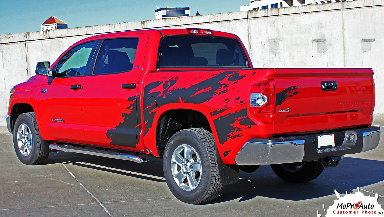 SHREDDER Toyota Tundra  Body Accent Striping Vinyl Graphic Decal Kit
