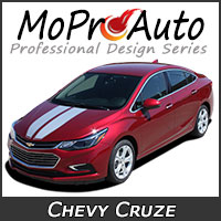 Featuring our MoProAuto Pro Design Series Vinyl Graphic Decal Stripe Kits for 2011-2015 Chevy Cruze Model Years