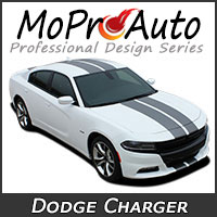 Featuring our MoProAuto Pro Design Series Vinyl Graphic Decal Stripe Kits for 2015-2019, 2020 Dodge Charger Model Years