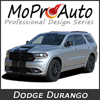MoProAuto Pro Design Series Vinyl Graphic Decal Stripe Kits for 2009-2016 Dodge Durango Truck