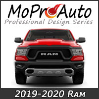 MoProAuto Pro Design Series Vinyl Graphic Decal Stripe Kits for 2009-2016 Dodge Ram Truck