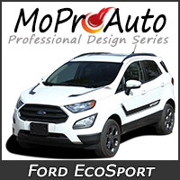 MoProAuto Pro Design Series Vinyl Graphic Decal Stripe Kits for 2013-2020 Ford EcoSport