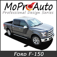 Featuring our MoProAuto Pro Design Series Vinyl Graphic Decal Stripe Kits for 2015-2017 2018 2019 2020 Ford F-150 Series Model Years!