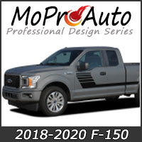MoProAuto Pro Design Series Vinyl Graphic Decal Stripe Kits for 2015 2016 2017 2018 2019 2020 Ford F-150 Series Model Years