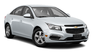 White Chevy Cruze - Ready For Vinyl Graphics Stripes and Decals