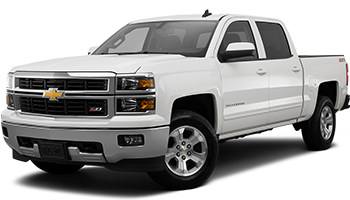 White Chevy Silverado - Ready For Vinyl Graphics Stripes and Decals