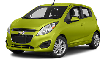 Green Chevy Spark - Ready For Vinyl Graphics Stripes and Decals