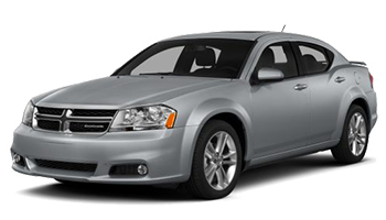 Gray Dodge Avenger