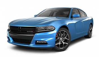 Blue Dodge Charger - Ready For Vinyl Graphics Stripes and Decals