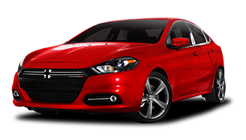 Red Dodge Dart - Ready For Vinyl Graphics Stripes and Decals