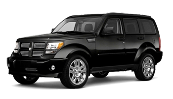 Black Dodge Nitro - Ready For Vinyl Graphics Stripes and Decals