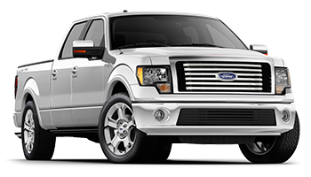 White Ford F-150 - Ready For Vinyl Graphics Stripes and Decals